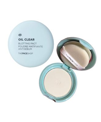 Phấn Phủ Kiềm Dầu OIL CLEAR BLOTTING PACT The Face Shop
