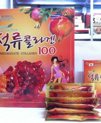 Nước Lựu Collagen Hàn Quốc 80ml x 30 gói