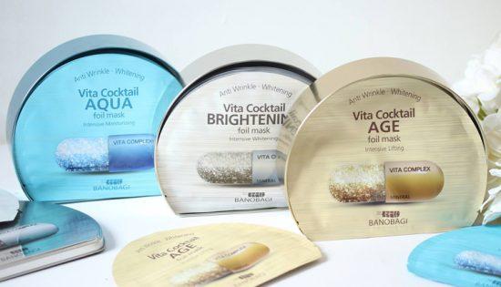 MẶT NẠ BANOBAGI VITA COCKTAIL #Aqua