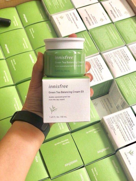Kem dưỡng Trà xanh Green Tea Balancing Cream