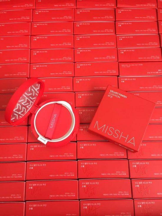 PHẤN NƯỚC MISSHA VELVET FINISH CUSHION SPF50+