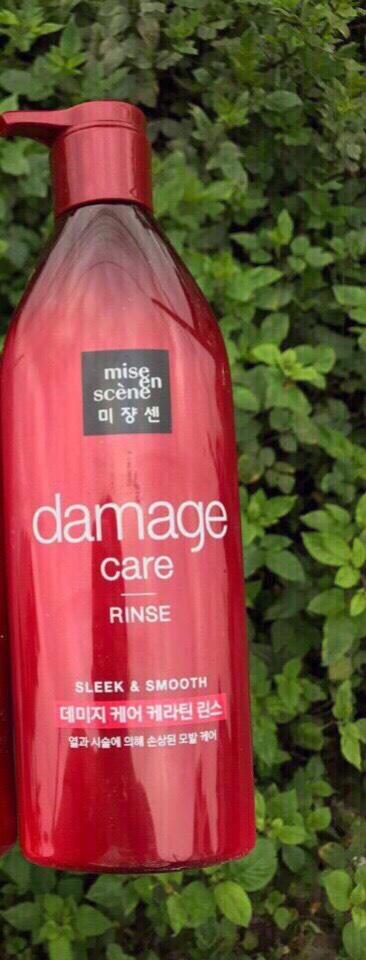 DẦU XẢ MISE EN SCENE Care Damge 680 ML - MÀU ĐỎ